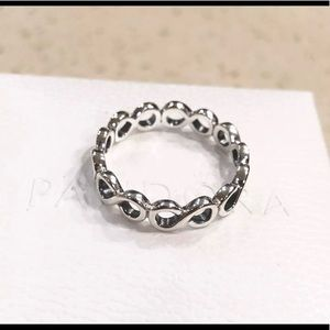 Pandora Infinity Sterling silver band/ring